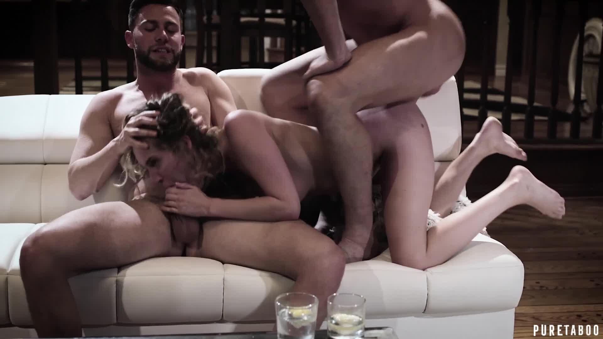Busty Milf Threesome Hd