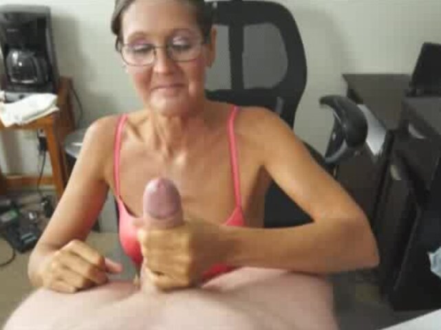 Horny Handjob