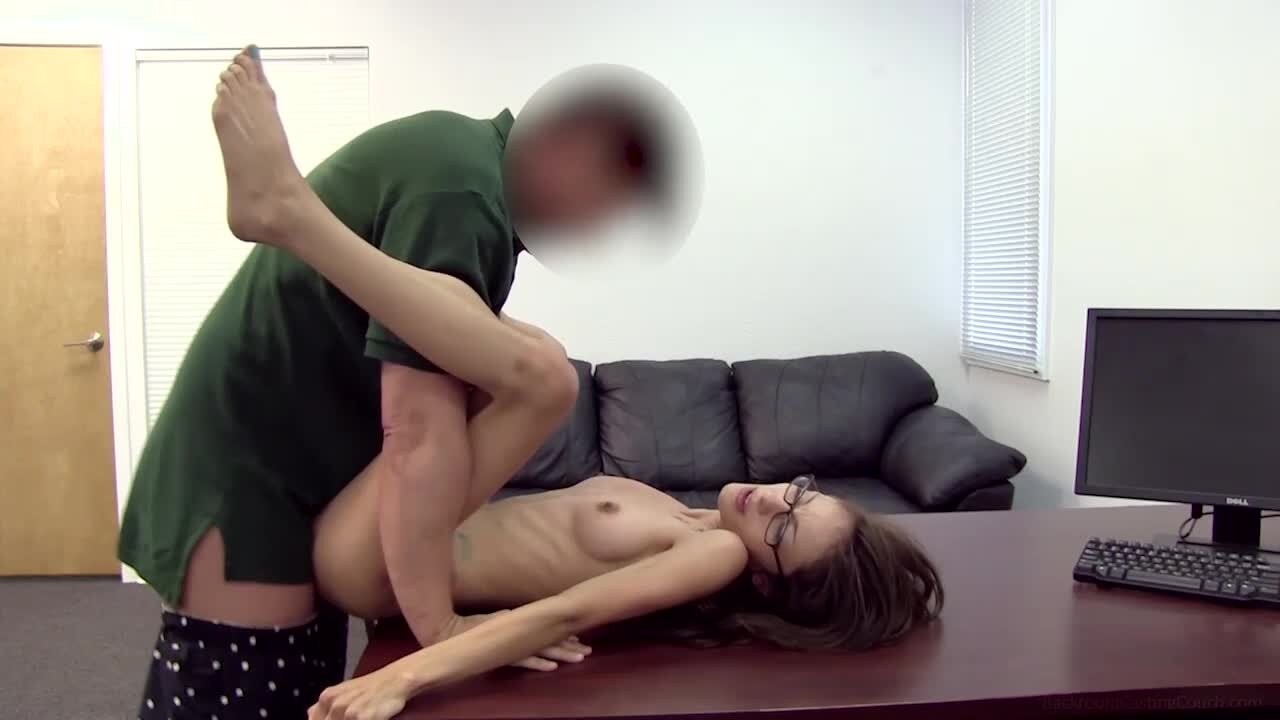 Casting Couch Pussy Licking