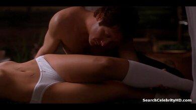 Sexy Maggie Gyllenhaal Secretary Nude Scene Gif